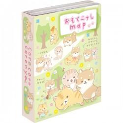 Livro Bloco Notas Corocoro Coronya & Shiba Forest