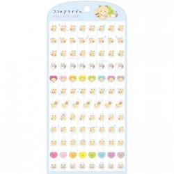 Kokoro Araiguma Mini Mini Seal Stickers