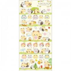 Kokoro Araiguma Hugs Forest Stickers