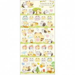 Stickers Kokoro Araiguma Hugs Forest