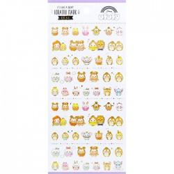 Stickers Kiratto Mark Disney Characters Ufufy