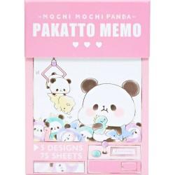 Libro Blocs Notas Mochi Panda UFO Catcher