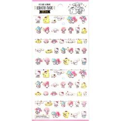 Sanrio Characters Kiratto Mark Stickers
