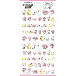 Stickers Kiratto Mark Sanrio Characters