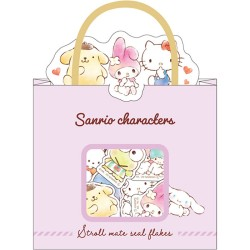 Saco Stickers Stroll Mate Sanrio Characters