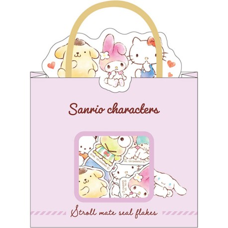 Sanrio Characters Stroll Mate Stickers Sack