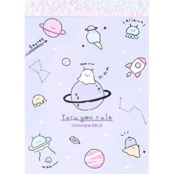 Mini Bloc Notas Yuru Cosmoworld