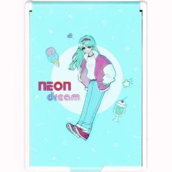 Neon Dream Girl Pocket Size Mirror