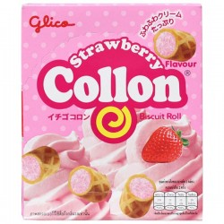 Collon Biscuit Rolls Strawberry