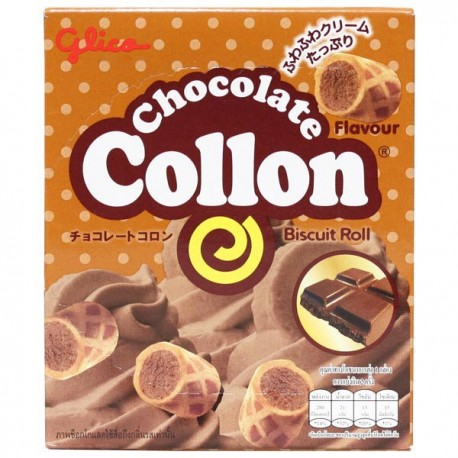 Collon Biscuit Rolls Chocolate
