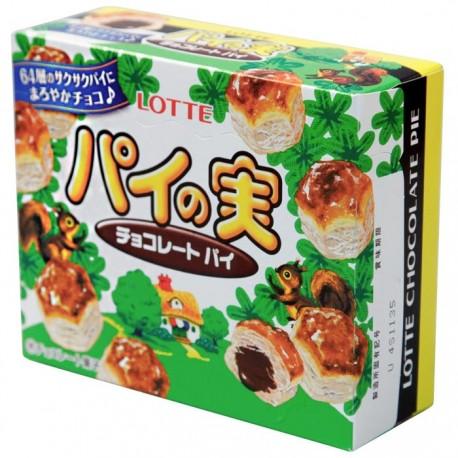 Mini Hojaldre Pie Chocolate