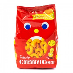 Snack Caramel Corn Cacahuete