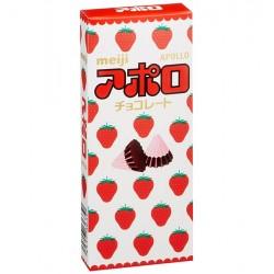 Apollo Strawberry Chocolate Cones