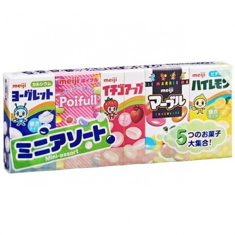 Meiji Mini Assorted Candy