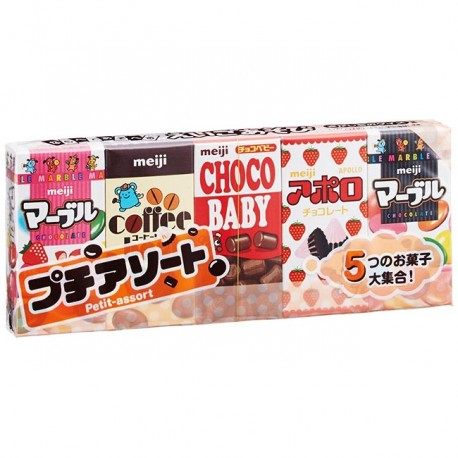 Meiji Petit Assorted Chocolate