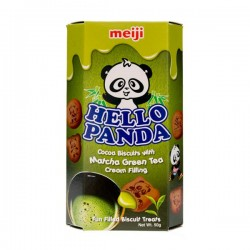 Hello Panda Biscuits Matcha Green Tea