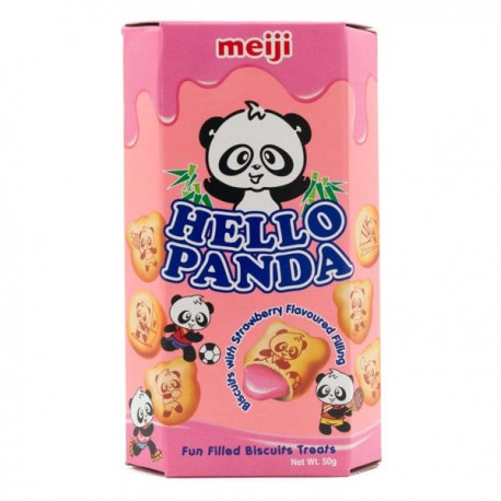 Hello Panda Biscuits Strawberry