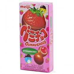 Gummy Choco Strawberry