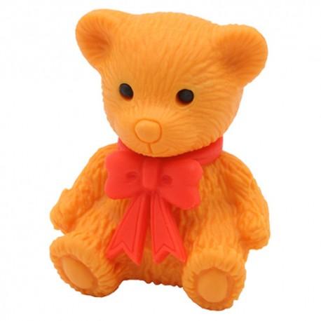 Teddy Bear Sitting Eraser