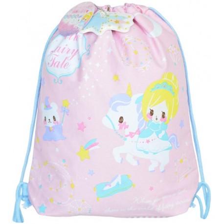 Fairy Tale Cinderella Drawstring Bag
