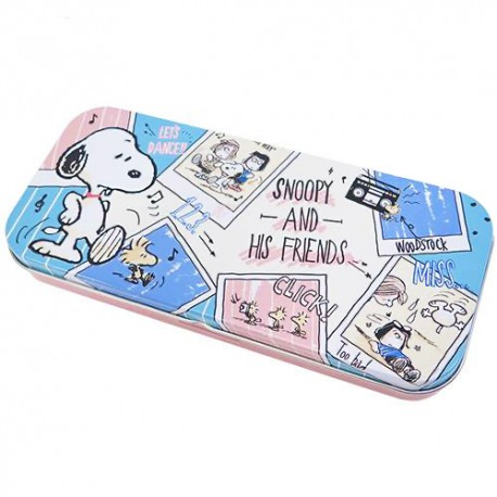 Snoopy & Friends Tin Case