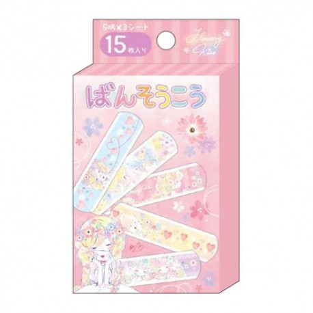 Flowery Kiss Bandages