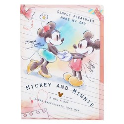 Mickey & Minnie Index File Folder