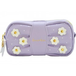 Flower Ribbon Pen Pouch