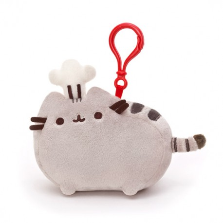 Pusheen Backpack Clip Chef