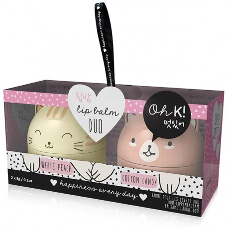 Kitten & Puppy Lip Balm Duo Set
