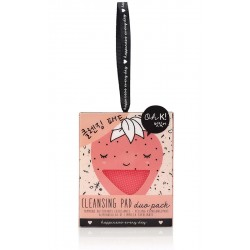 Set Almofadas Limpeza Facial Strawberry