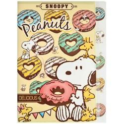 Carpeta Clasificadora Index Snoopy Delicious