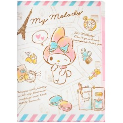 My Melody France Index File Folder