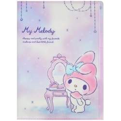 My Melody Makeup Index File Folder