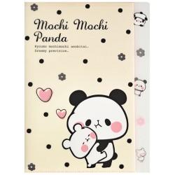 Carpeta Clasificadora Index Mochi Panda Dots
