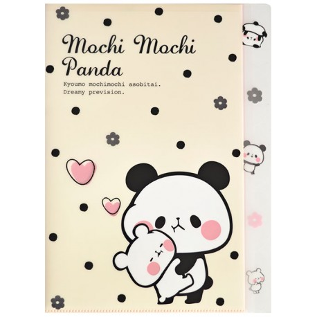 Mochi Panda Dots Index File Folder