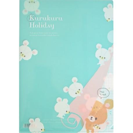 Kurukuru Holiday File Folder