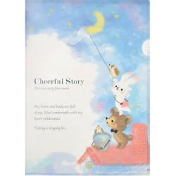 Cheerful Story File Folder