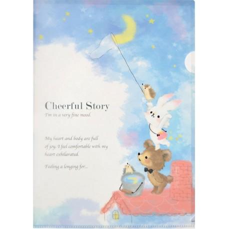 Cheerful Story File Folder