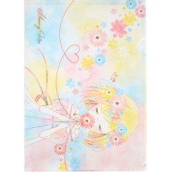 Flowery Kiss File Folder
