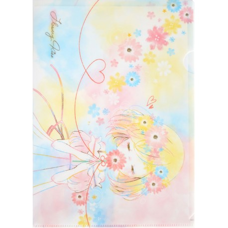 Flowery Kiss File Folder
