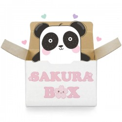 Kawaii Panda Sakura Box