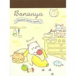 Mini Bloco Notas Bananya