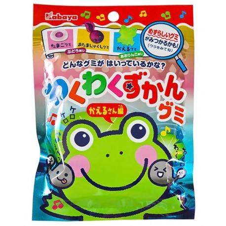 Waku Zukan Frogs Gummy