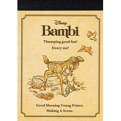 Mini Bloco Notas Bambi