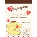 Mini Bloc Notas Pompom Purin Hearts