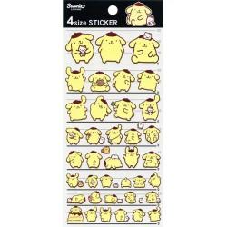 Pompom Purin 4 Size Stickers