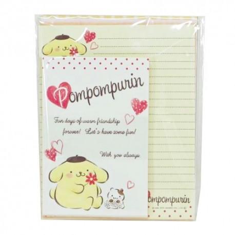Pompom Purin Hearts Letter Set