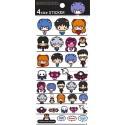 Evangelion 4 Size Stickers