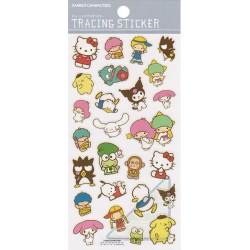 Pegatinas Tracing Sanrio Characters
